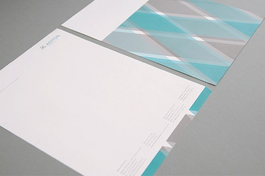 Adyton Systems | Corporate Design | Briefpapier