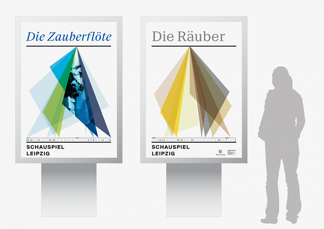 Schauspiel Leipzig | Corporate Design | Plakate