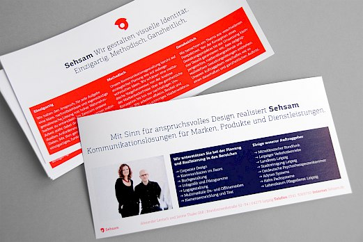 Sehsam | Corporate Design | Agenturprofil