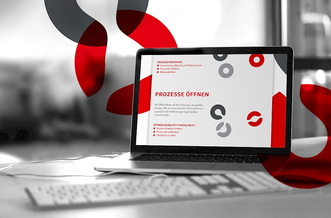 Isonet AG | Corporate Design | Corporate Website mit Animation zum Systematischen Prozessmanagement